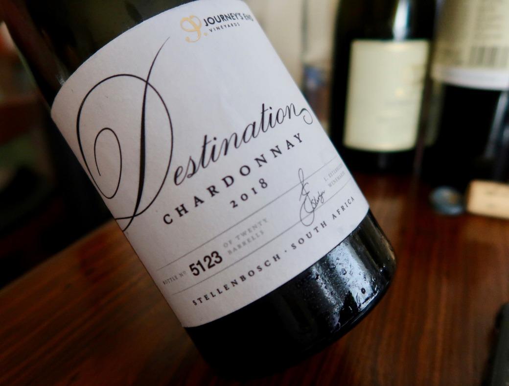 Journeys End Wines chardonnay 3
