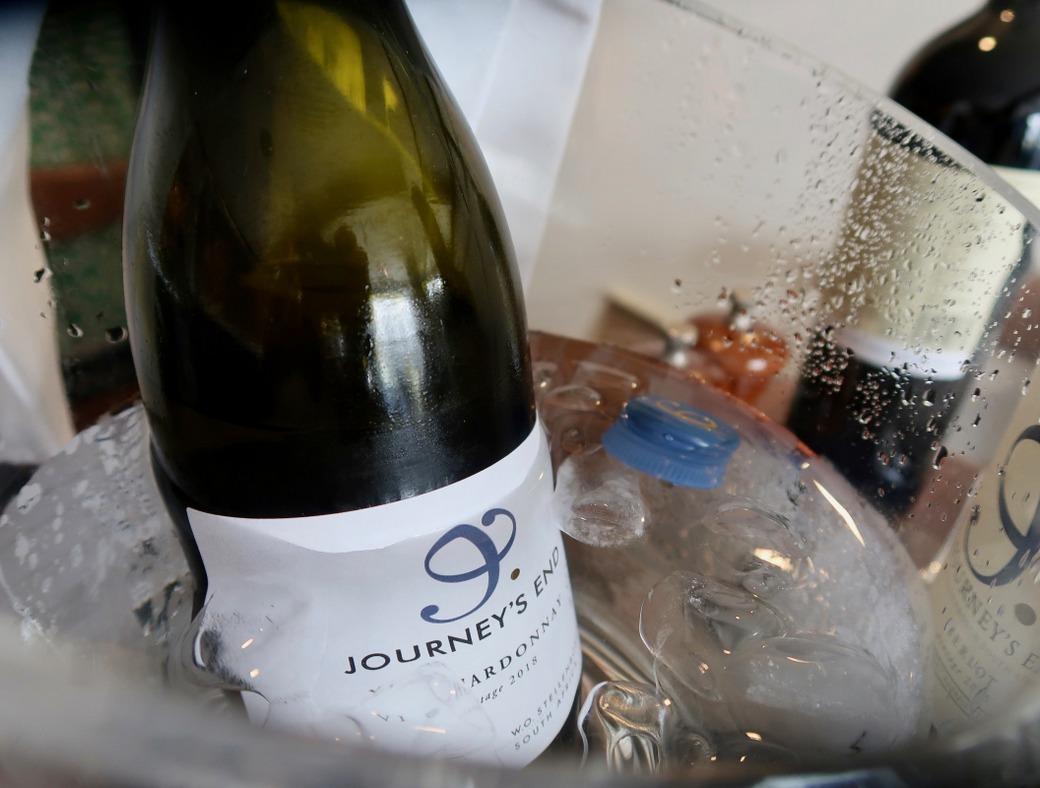 Journeys End Wines chardonnay
