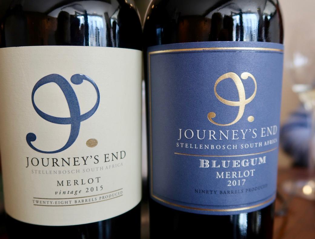 Journeys End Wines merlot