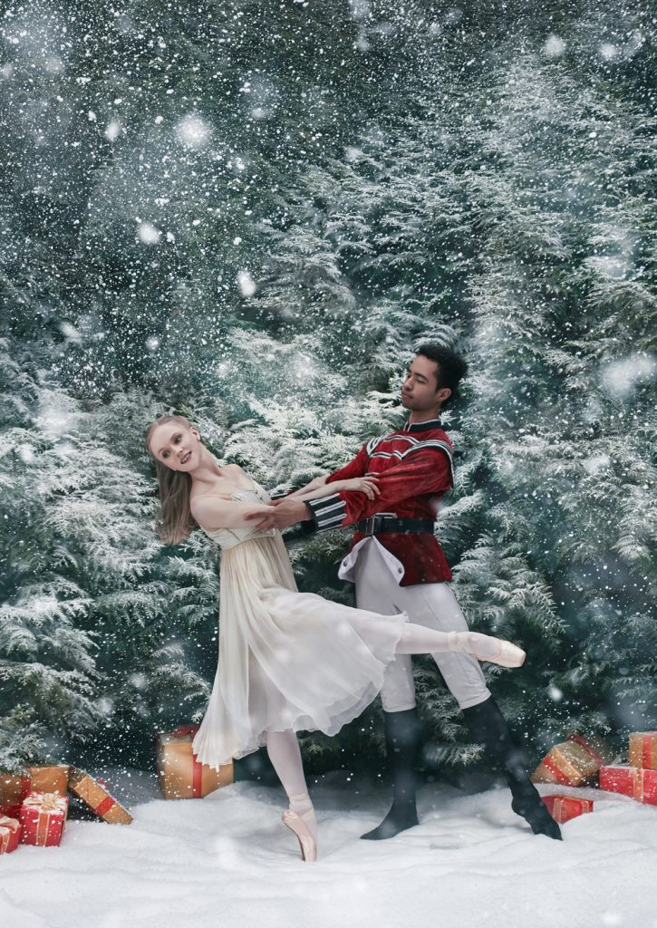 Karla-Doorbar-as-Clara-and-Edivaldo-Souza-da-Silva-as-the-Prince-in-The-Nutcracker-BRB-Credit-Bella-Kotak