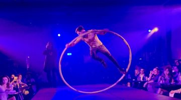 London Cabaret Club hoop artist