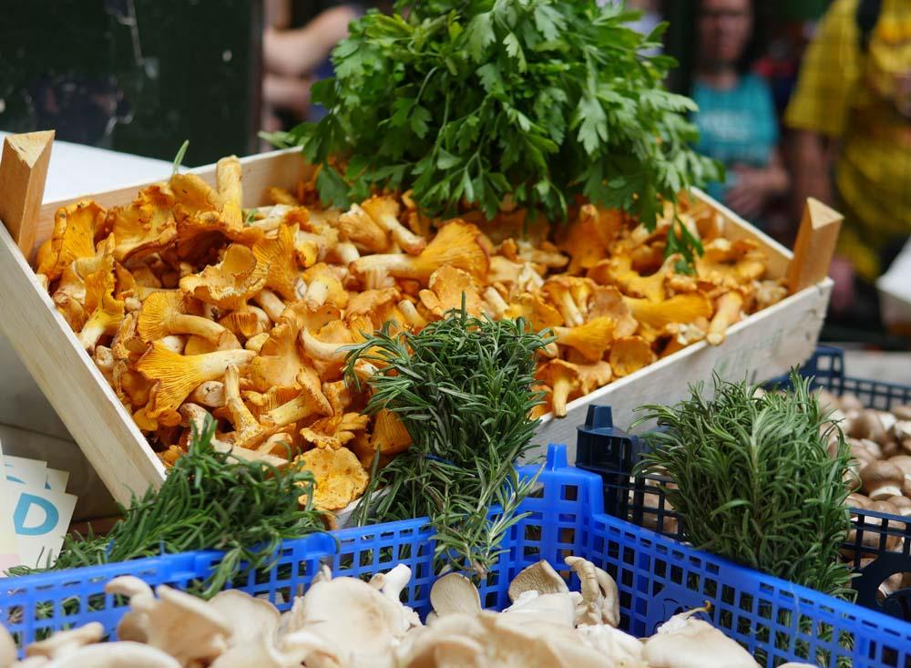 Mushrooms Borough Market