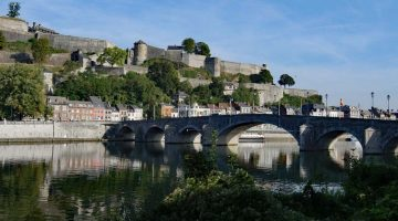 Namur Citadel from the River