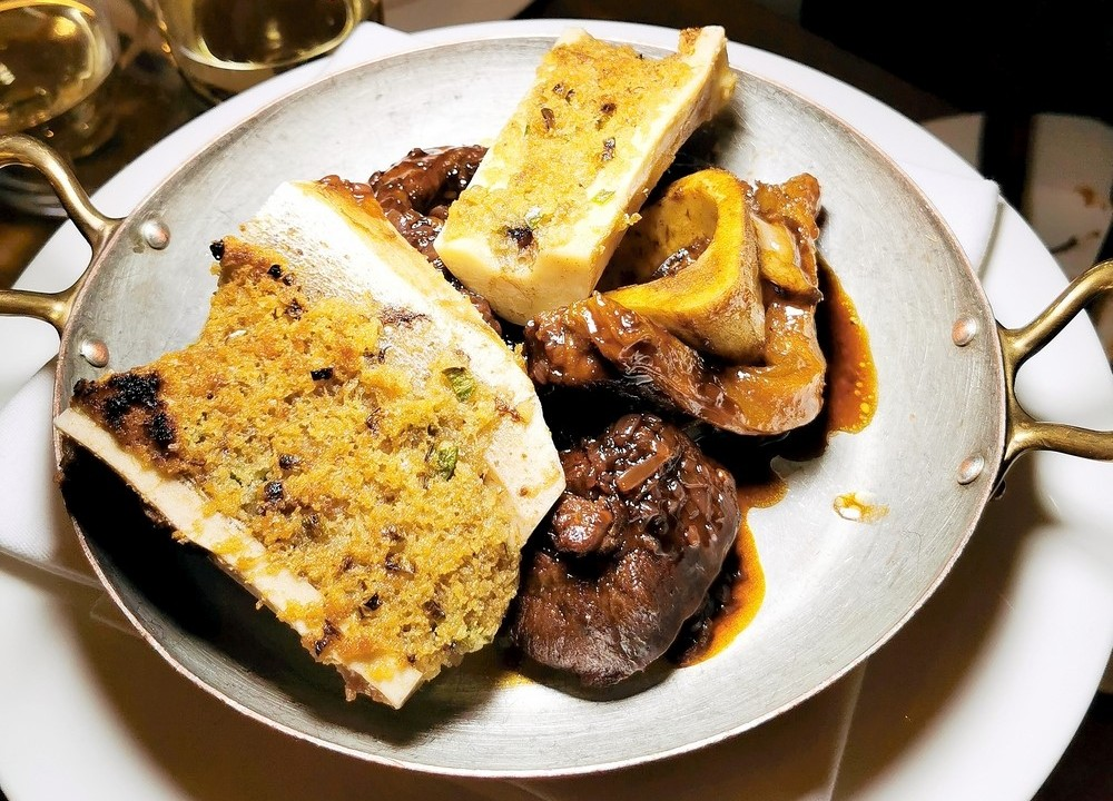 Dexter beef with bone marrow