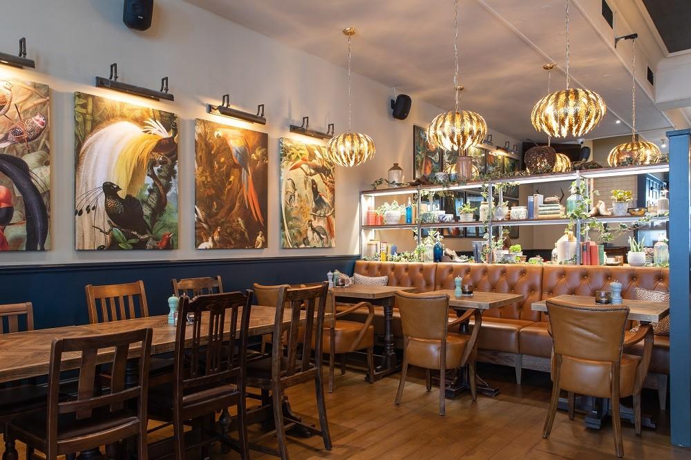 The Adam & Eve pub W1 - interior