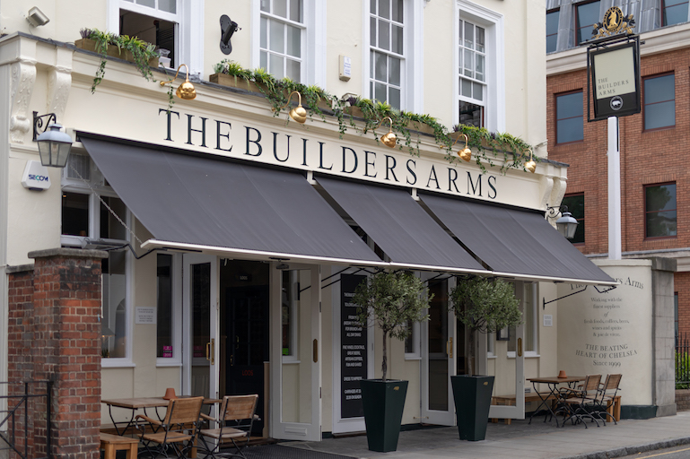 The Builders Arms Exterior LR