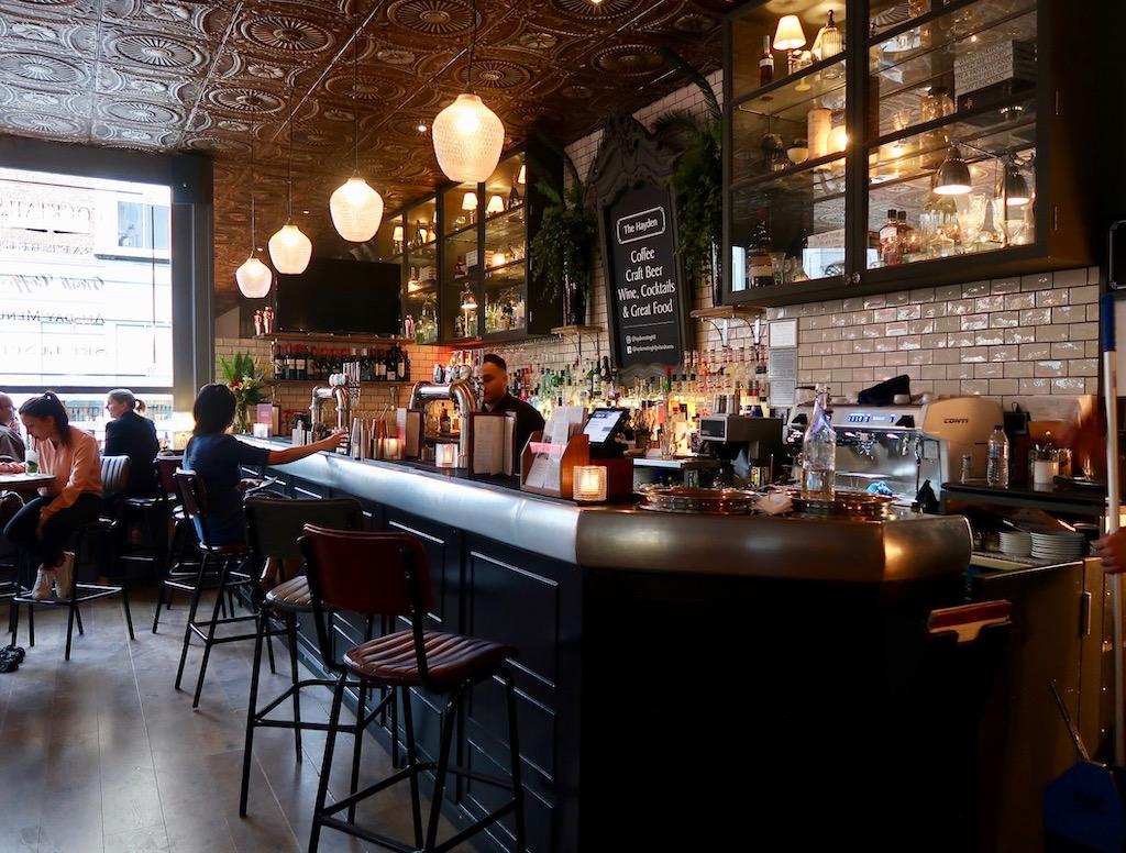 The Hayden bar - Notting Hill