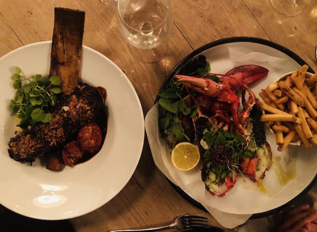 The Hayden - beef & lobster