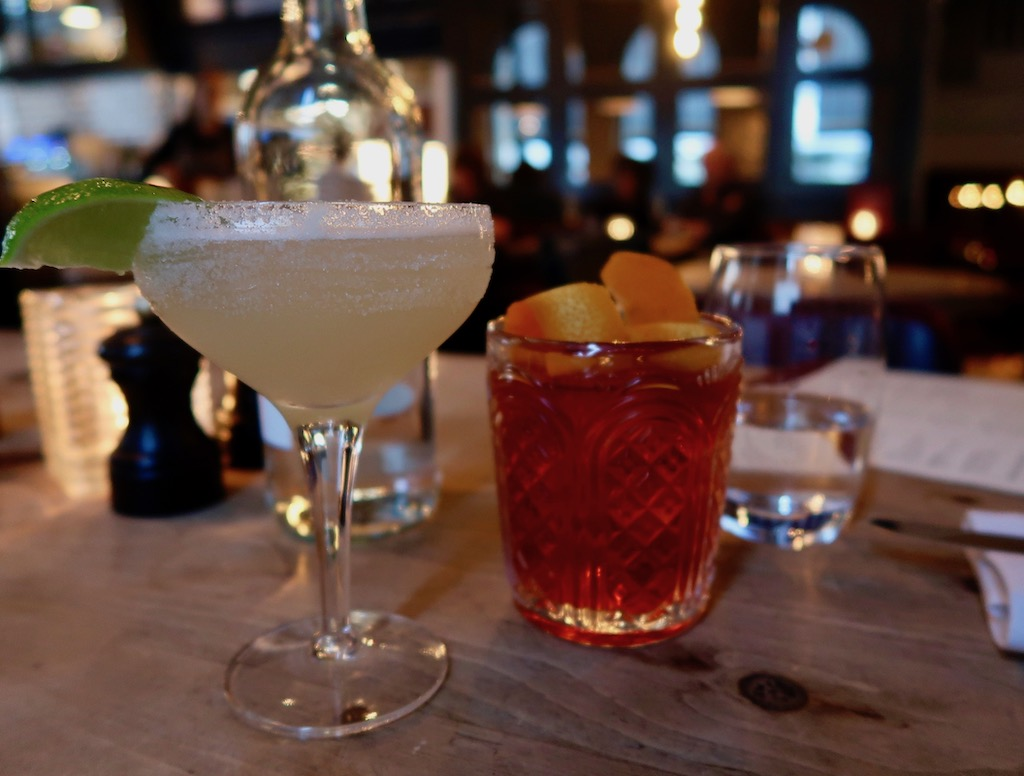 The Hayden cocktails
