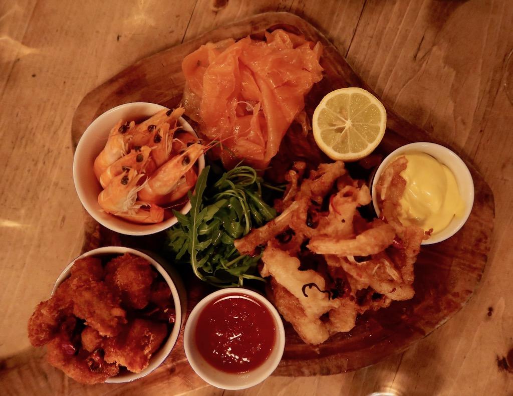 The Hayden seafood platter