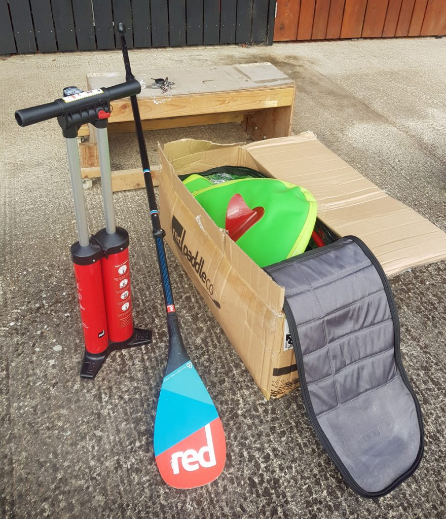 The Red Paddle Company SUP