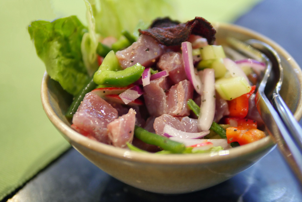 Tuna Ceviche - Romulo Kensington