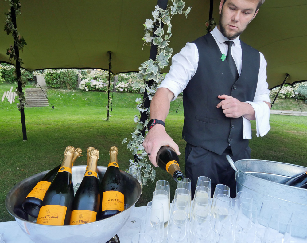 Welcome Fizz at Stocks Gala Dinner