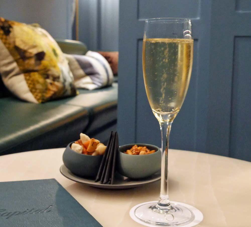 capital hotel Bar - Camel Valley Sparkling Wine