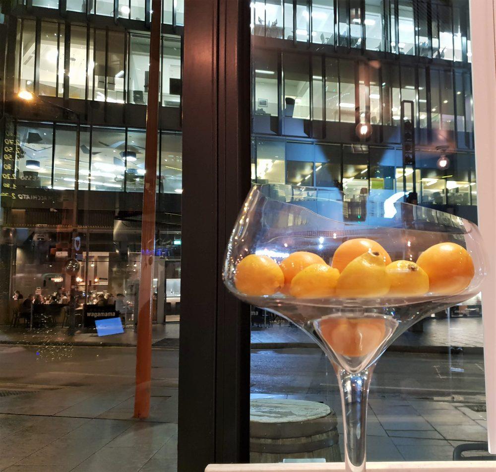 Capricci, London, lemons