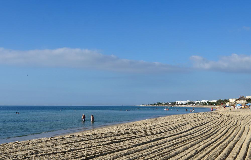 Beach at Hotel Menar