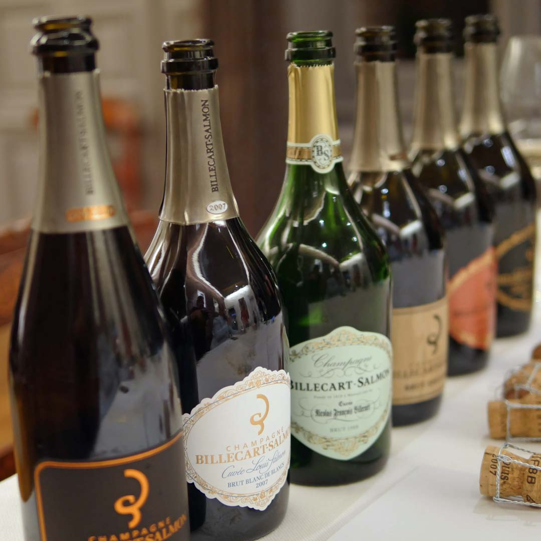 Billecart-Salmon Different types of champagne