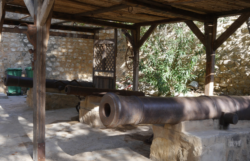Cannons at Hammamet Fort