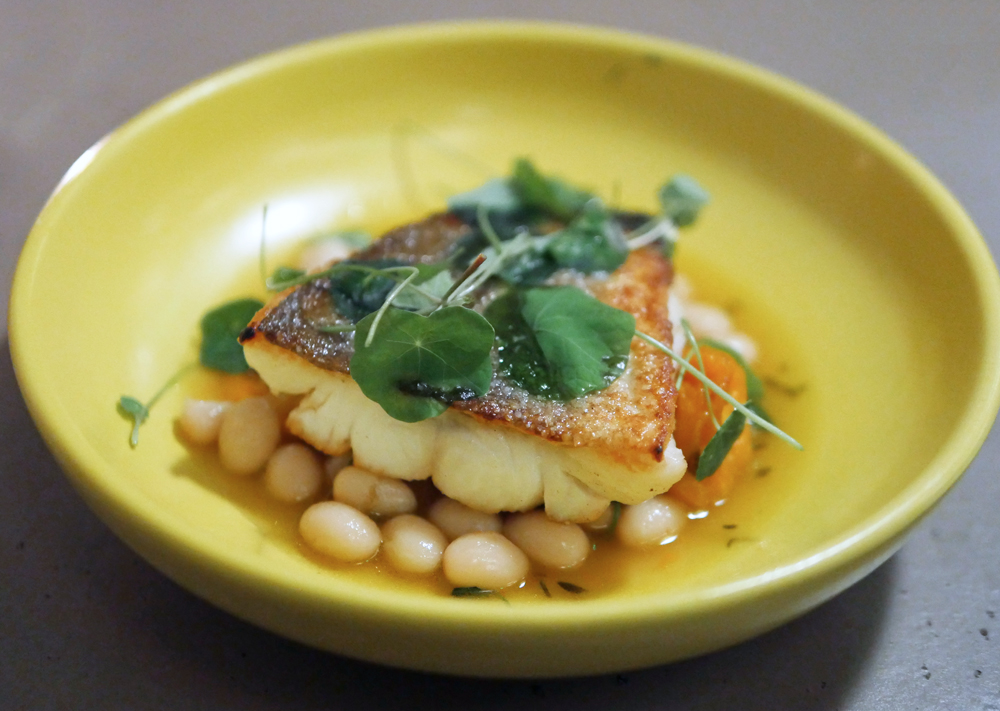 Cod and Coco Beans - Two Lights Shoreditch