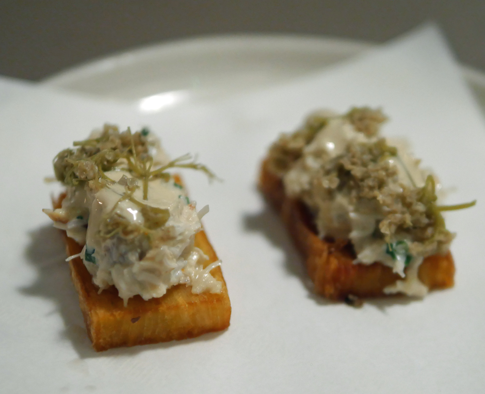 Crab and Elderflower - Two Lights