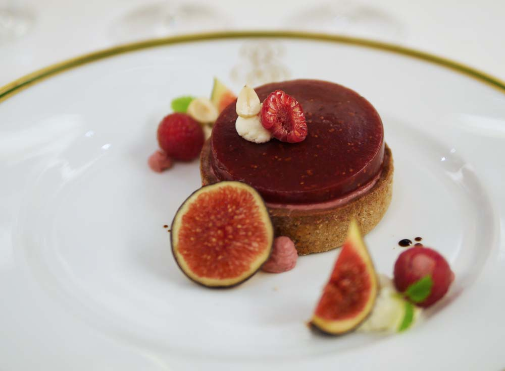 Dessert - Fig, Framboise Sable Billecart Salmon