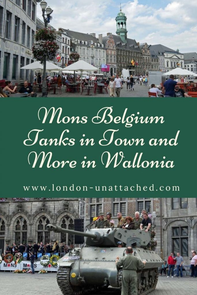 Mons - Tanks in Town and More in Mons Wallonia