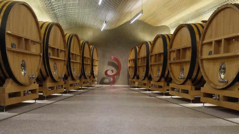 Oak Vats at Billecart Salmon