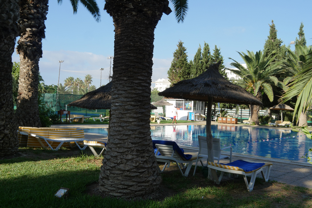 Pool at Hotel Menar