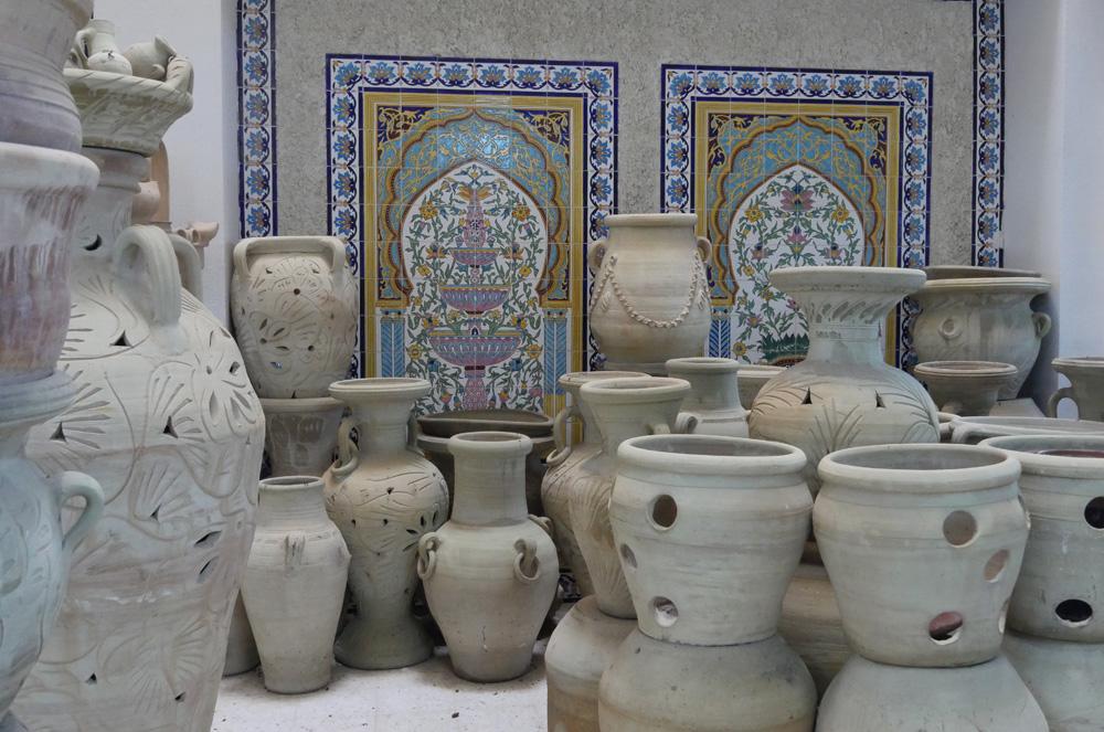 Pottery Nabeul Tunisia