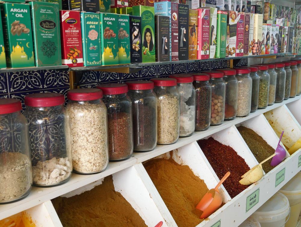 Spices Nabeul Medina