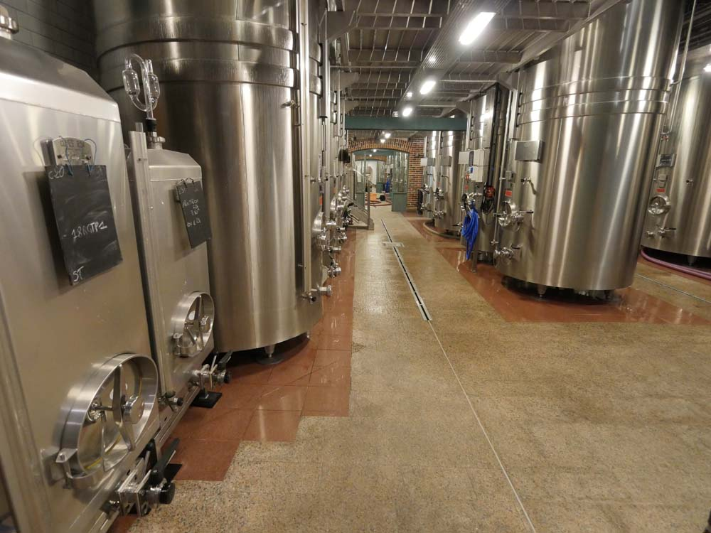 Stainless Steel Vats Billecart Salmon