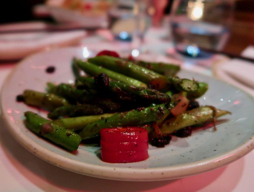 Uli Pan-Asian style asparagus