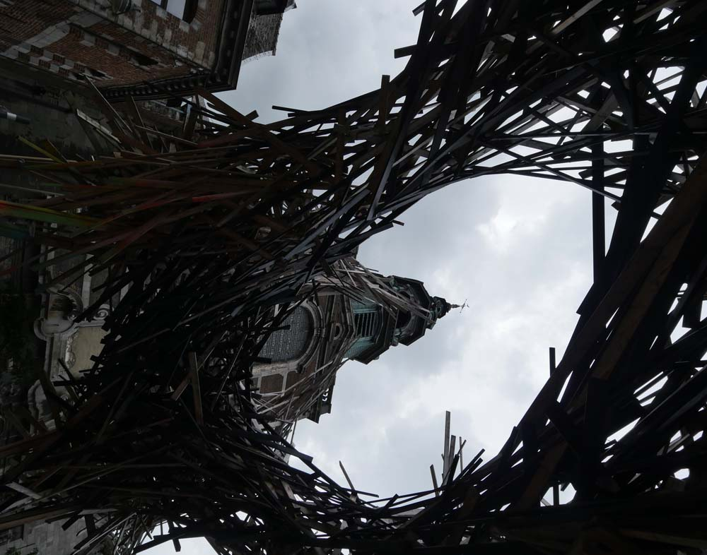 Mons - street sculpture for City of Culture 2015
