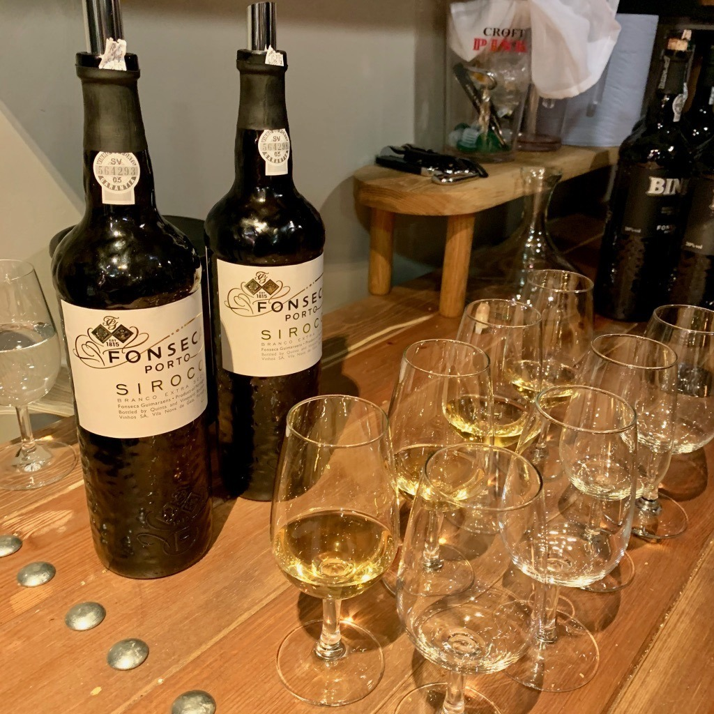 Tasting Siroco Port from Fonseca