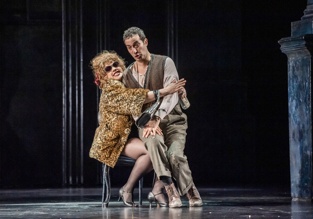 Papagena and Papageno in The Magic Flute, Royal Opera House 2019