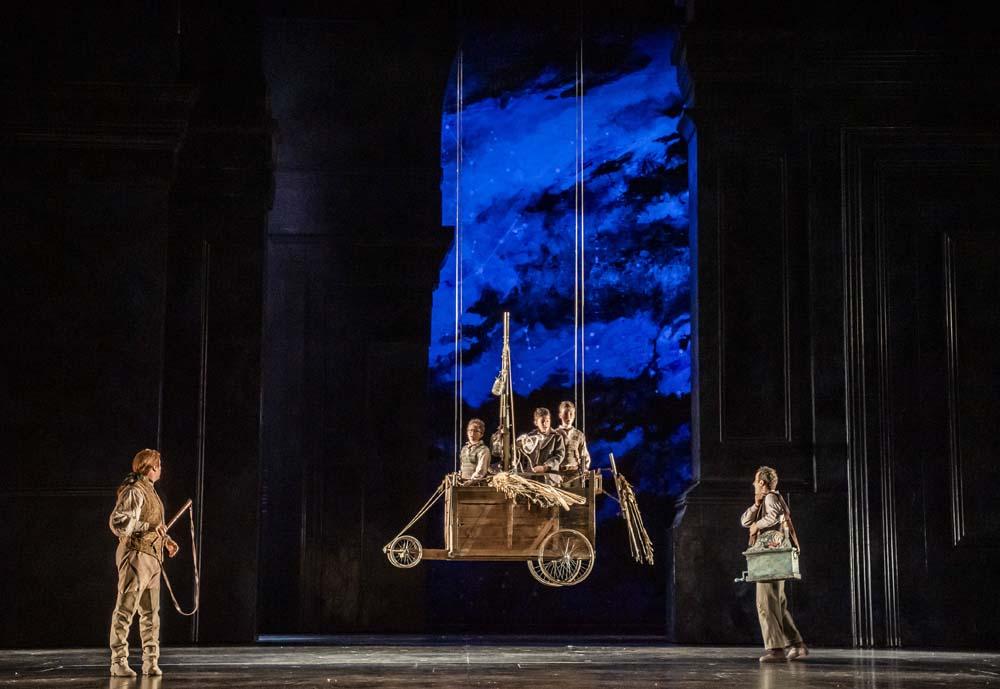 The Three Boys with Papageno and Tamino - Magic Flute Royal Opera House