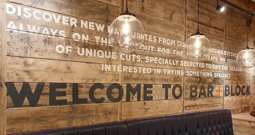 Bar-Block-Sutton-interior-welcome-sign
