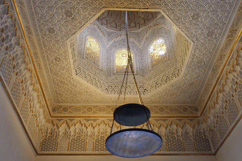 Sidi bou Said, Baron d'Erlangers Ceiling - Ennejma Ezzahra