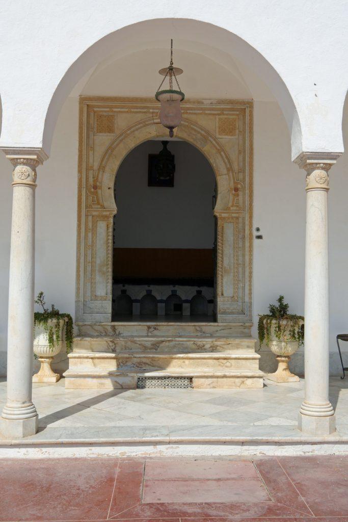 Baron d'Erlangers House Entrance