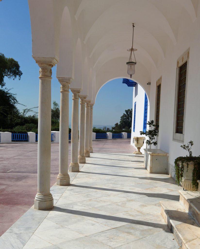 Baron d'Erlangers House columns - Ennejma Ezzahra