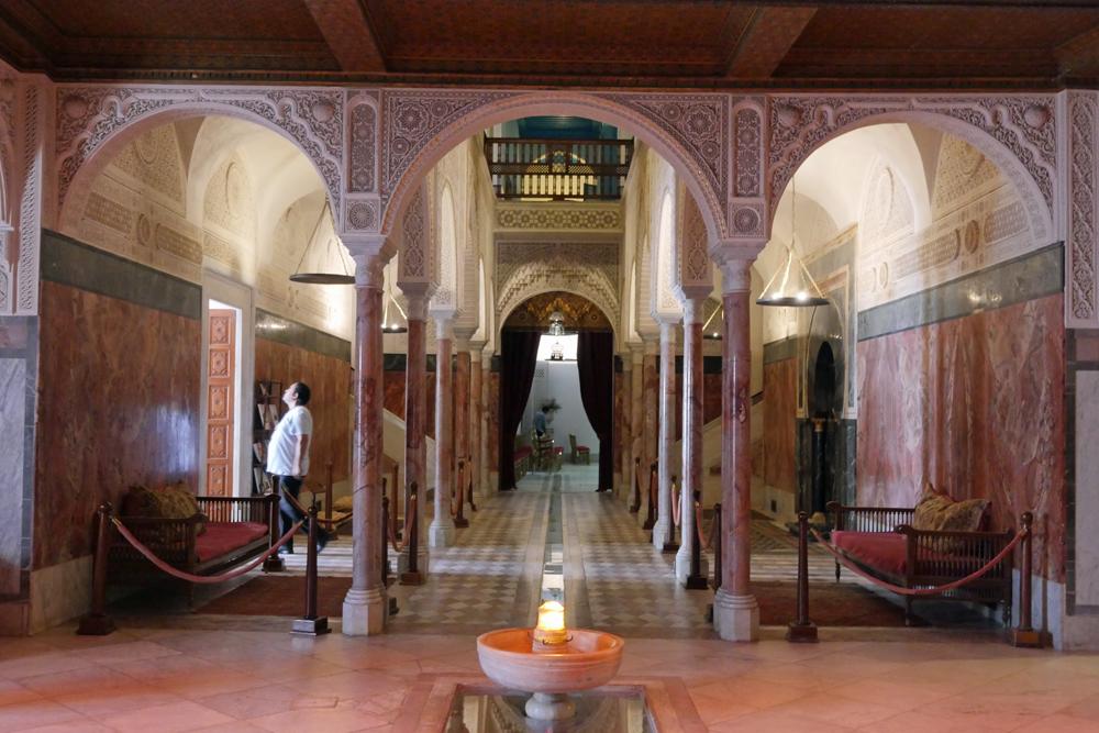 Baron d'Erlangers House lobby