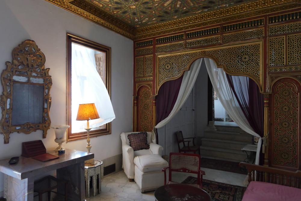 Baron d'erlangers house - Bedroom room