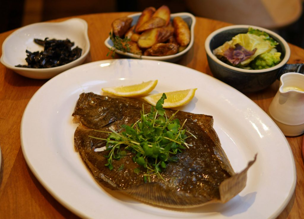 Brill to share - Sussex Restaurant Soho