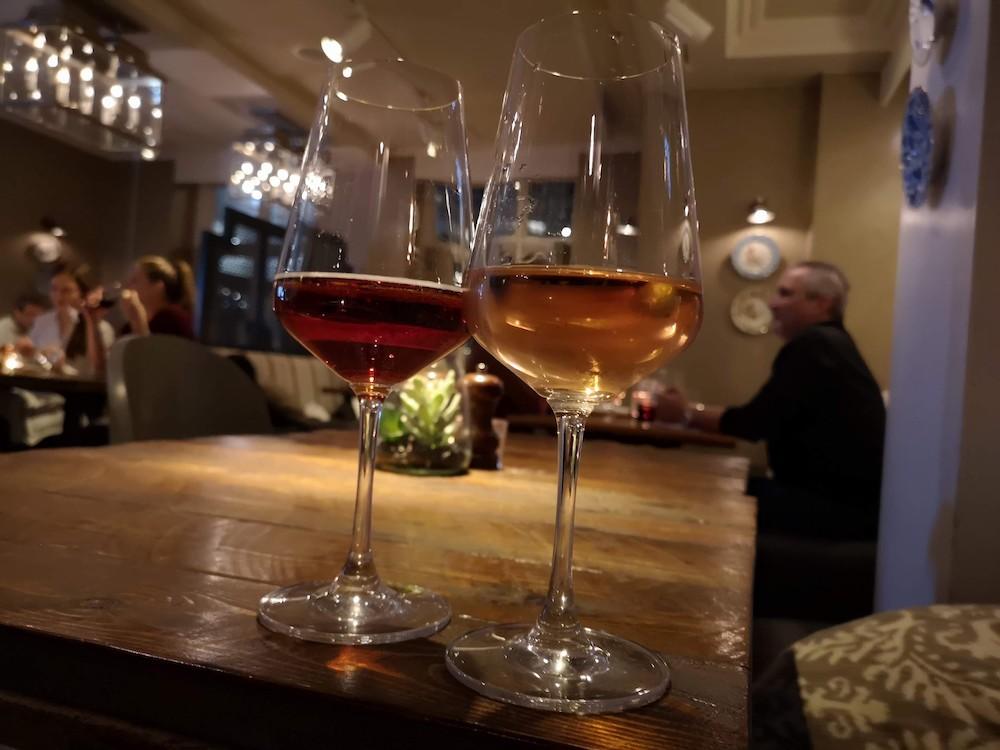 CAXTON GRILL WINE GLASSES