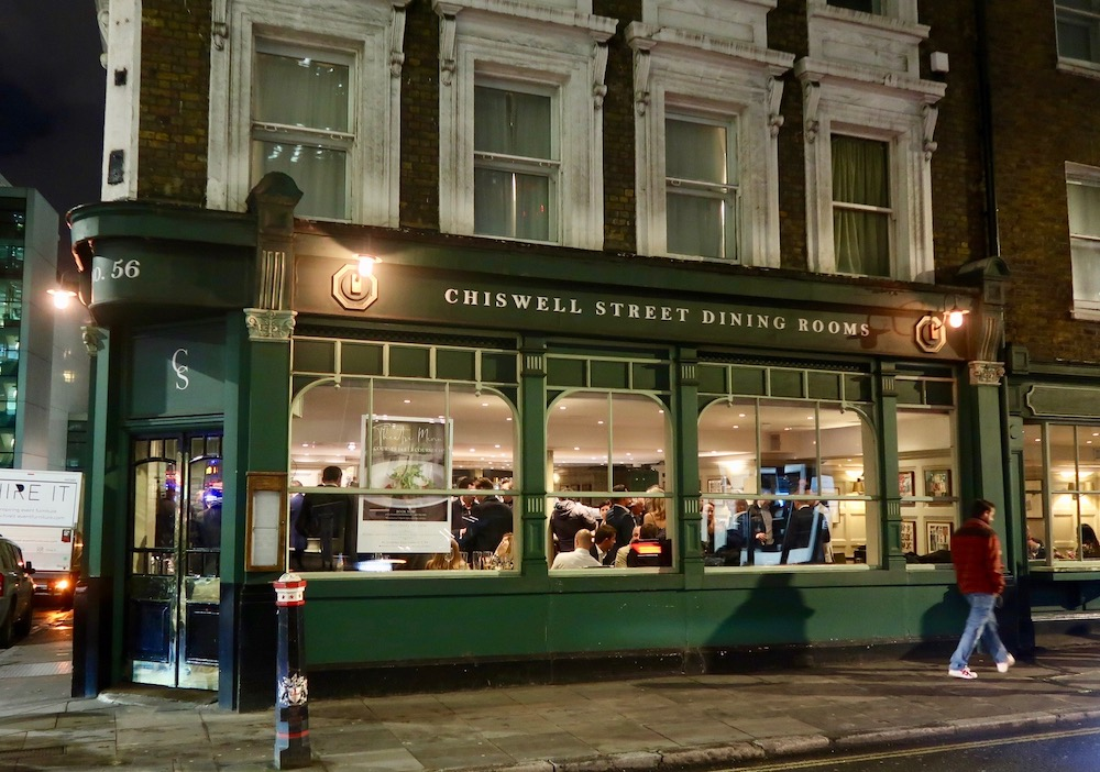 CHISWELL ST dining room - exterior