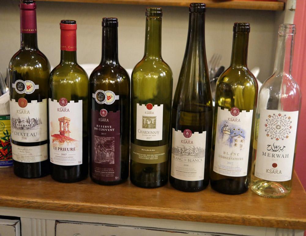 Chateau Ksara Wines