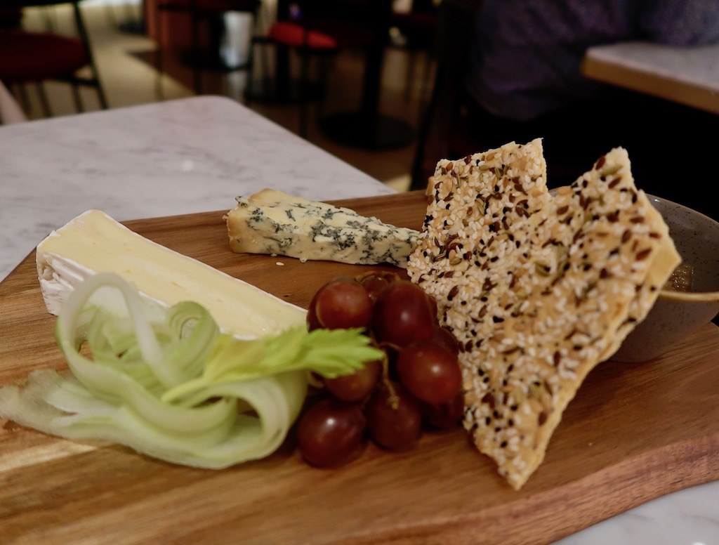 Cheese board - Boulevard Theatre restaurant