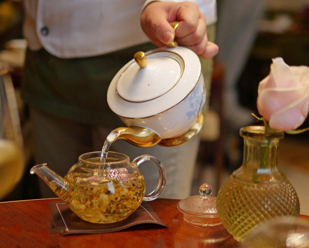 Floral Tea - Mandarin Oriental