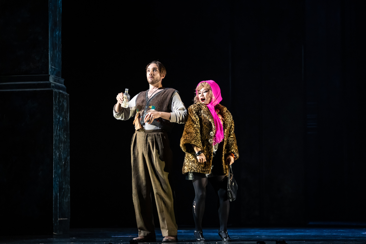 Haegee Lee, Huw Montague Rendall (c) ROH 2021. Photos by Bill Cooper_MagicFlute_0208