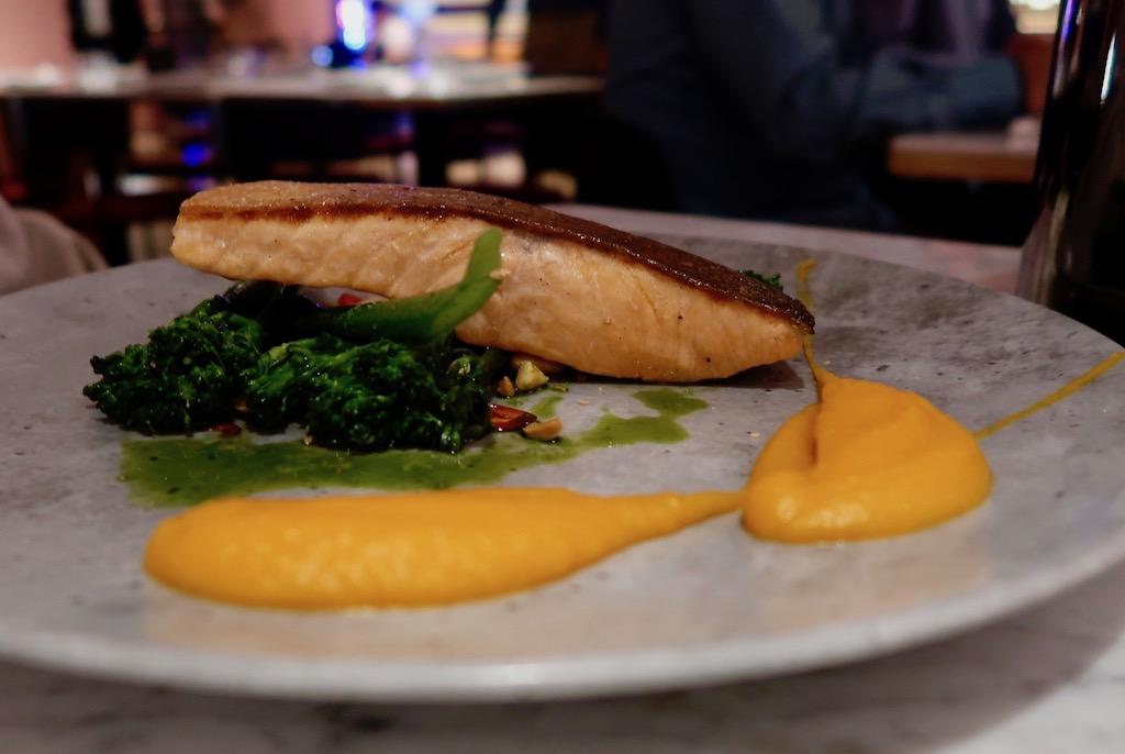 Loch Duart salmon - Boulevard Theatre restaurant